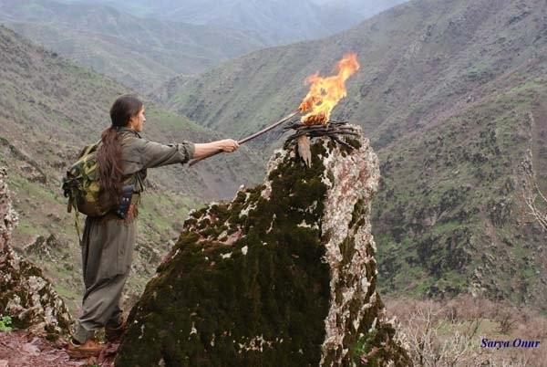 Женщины-партизанки Курдистан