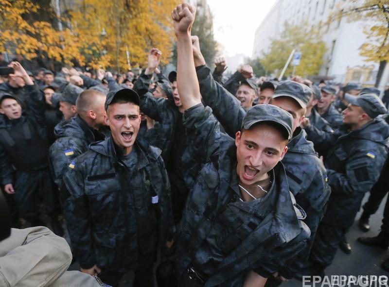Бунт нацгвардии солдатские бунты в Украине