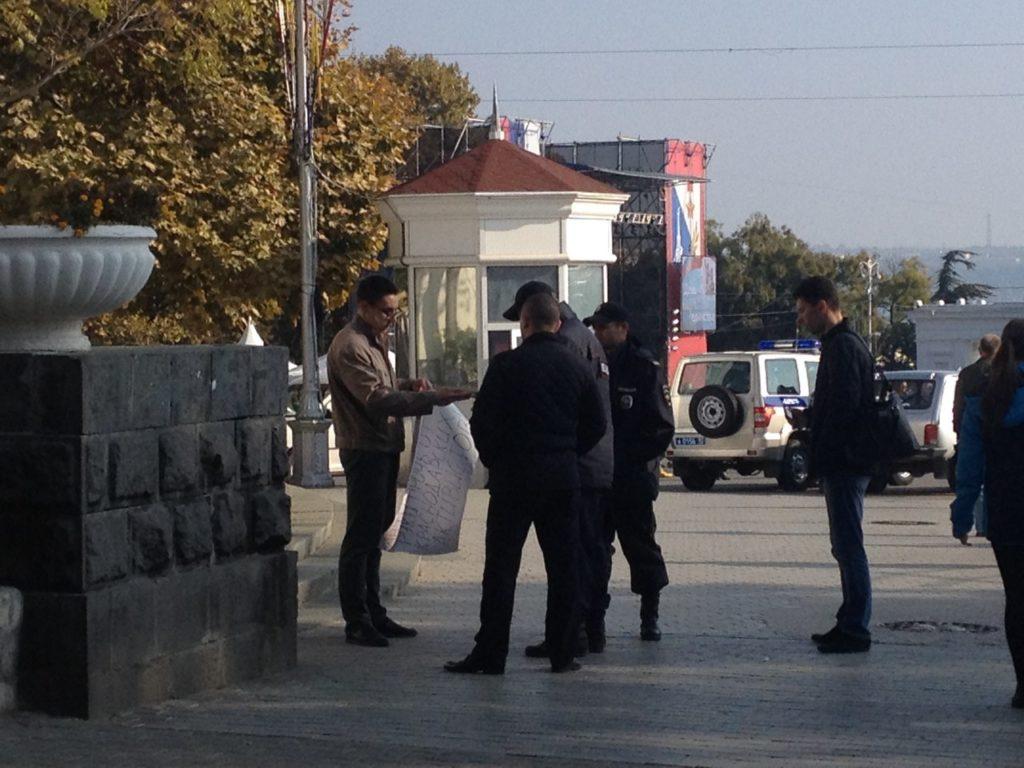 Пикет в Севастополе 4 ноября 2015 2