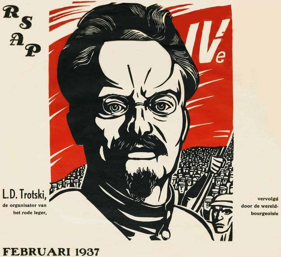 Левая оппозиция Троцкий