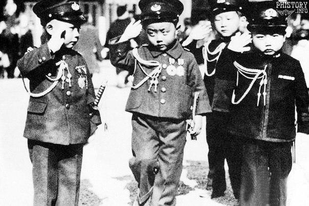 Агрессивная милитаристская Япония. 1937 год.