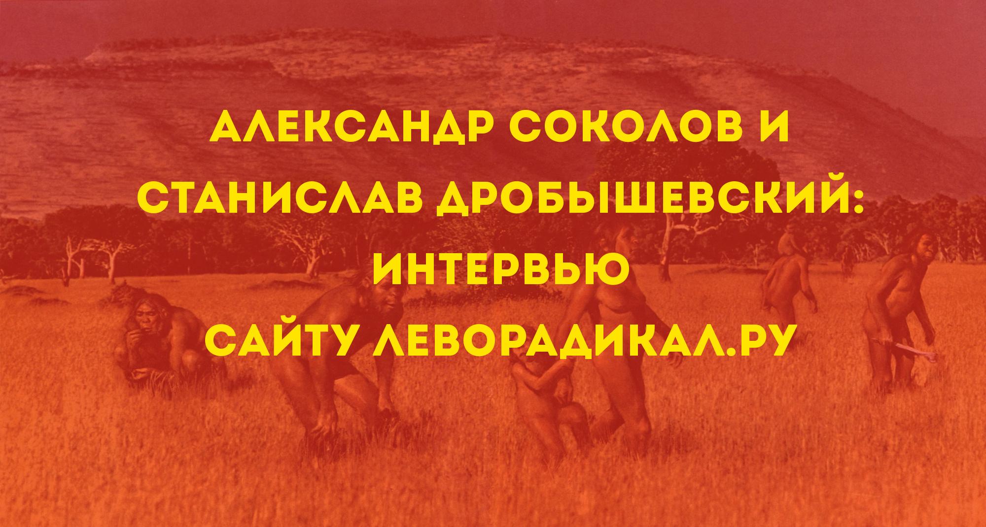 Соколов и Дробышевский интервью 2016