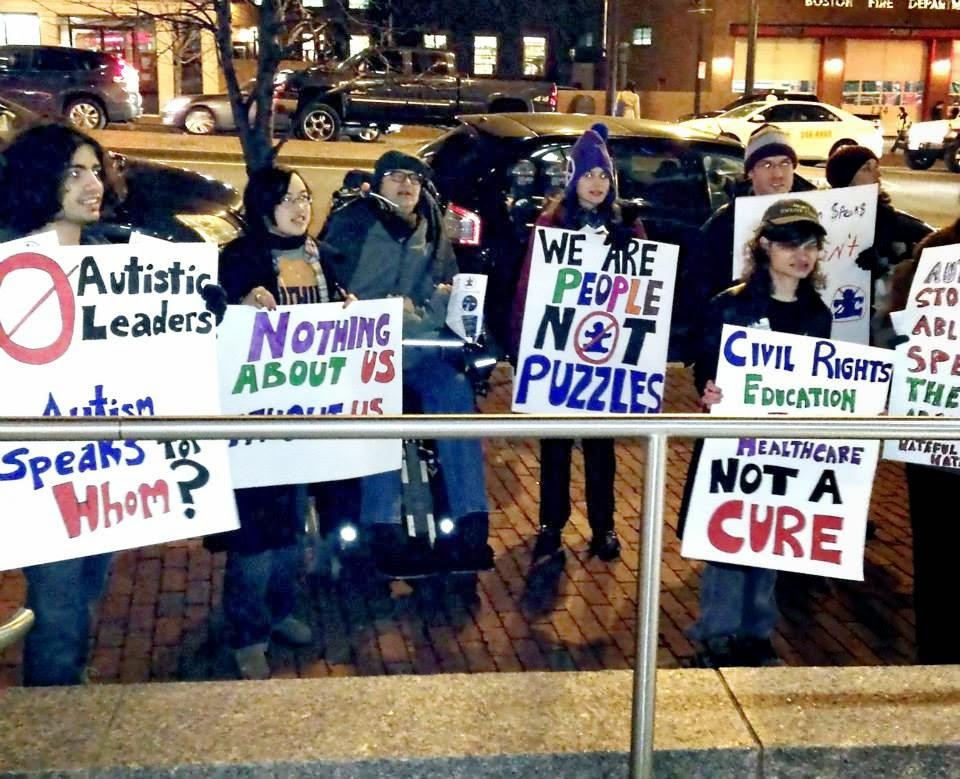 Акция зарубежных активистов. Бойкот Autism speaks.